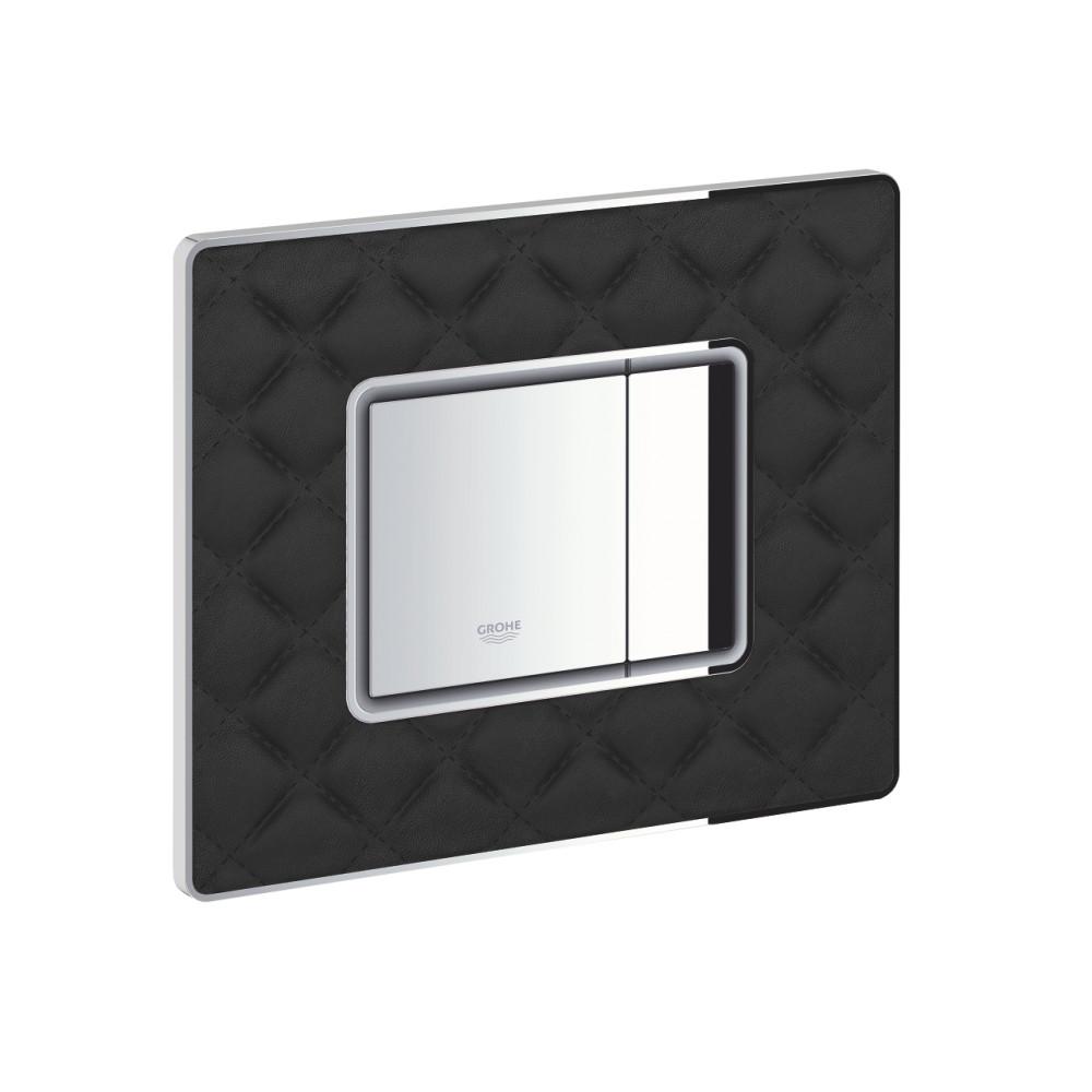 Кнопка смыва Grohe 38913XN0 Skate Cosmopolitan хром/черный