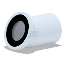 Отвод АНИ пласт W2220 110х22,5°, колено для унитаза