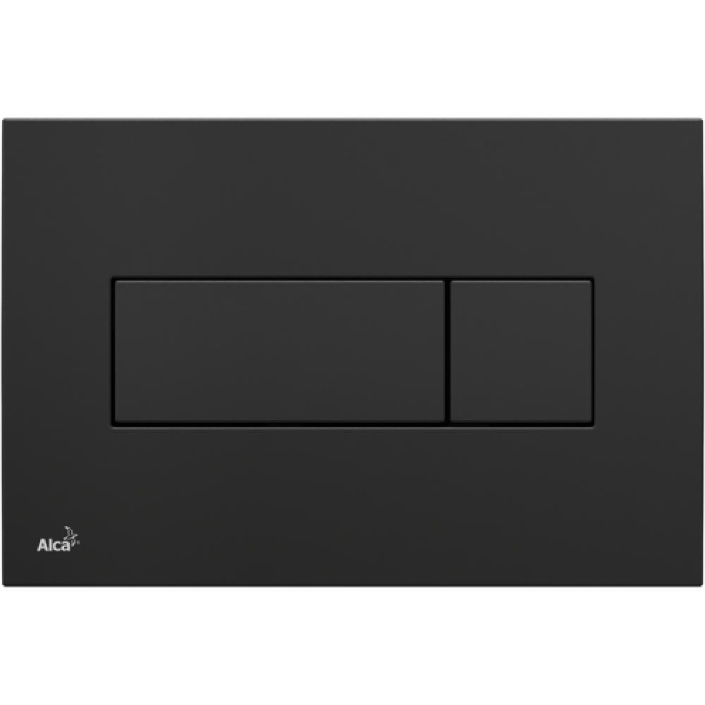 Кнопка смыва Alcaplast M378 черная