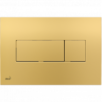 Кнопка смыва Alcaplast M375 золото