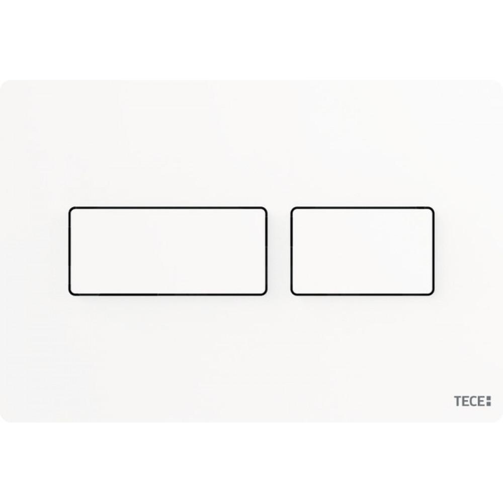 Панель смыва унитаза TECE Solid 9240433, белая матовая