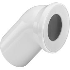 Отвод для унитаза Viega 101718 45°, пластиковый, сливная труба 110