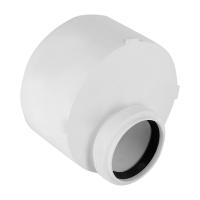 Переходник канализационный короткий Rehau 110 х 90 | Raupiano Plus 11200871001