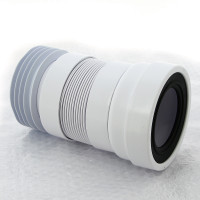 Гофра для унитаза McAlpine MRWC-F20R 230-330мм, лепестковая, 110