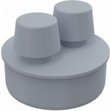 Вакуумный клапан Alcaplast APH110 DN110 канализационный