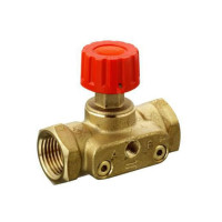 Ручной балансировочный клапан ASV-M Danfoss 003L7692 ДУ20, Rp ¾, Kvs=2.5 латунь, (USV-I)