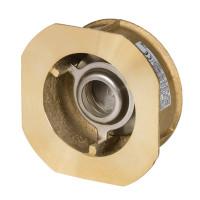 Клапан обратный Danfoss NVD 802 065B7520 пружинный, межфланцевый, ДУ 32, Kvs=18, латунный