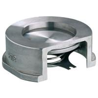 Клапан обратный межфланцевый фланцевый Zetkama 275I Ду 40 Ру 40 275I040E51 нерж. сталь