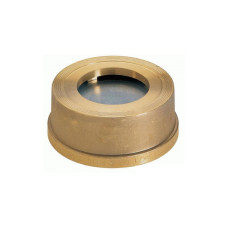 Клапан обратный межфланцевый Zetkama 275H020C50 пружинный, латунь, Ду, 20, Ру16, Тмакс. 200