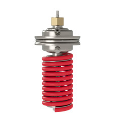 Регулирующий блок Danfoss AFA 003G1010 регулятора давления после себя, диапазон настройки, бар: 0,5–2,5, для клапанов VFG 2