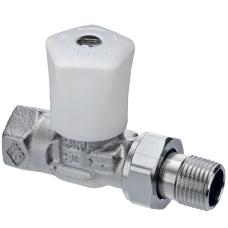 Ручной регулирующий клапан Heimeier Mikrotherm 0122-02.500 ДУ15 1/2 прямой