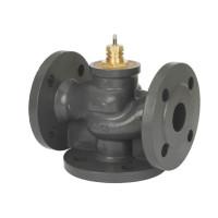 Регулирующий клапан VF3 Danfoss 065Z3357 ДУ25, чугун, фланцевый, Kvs=10, трехходовой