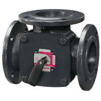 Трехходовой смесительный клапан Esbe 3F 11100100 ДУ20, Ру 10