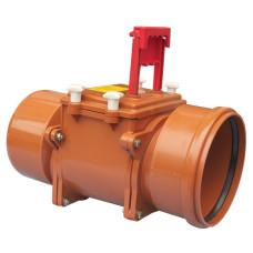 HL720.1 Канализационный затвор DN200 с заслонкой из нержавеющей стали и ручным затвором устройство для монтажа и установки оборудования для дома
