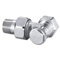 Клапан радиаторный запорный IMI Heimeier Regutec 0355-02.000 угловой ДУ15 1/2 бронза