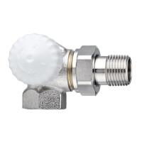 Термостатический клапан для радиатора Heimeier V-exact II 3713-02.000 1/2 двойной угловой ДУ15