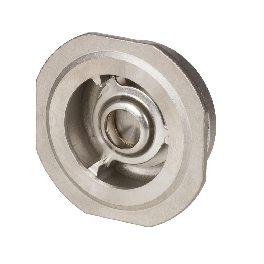 Обратный клапан NVD 812 Danfoss 065B7533 пружинный, межфланцевый, ДУ 32, Kvs=18, нерж. сталь
