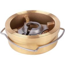 Обратный клапан Tecofi межфланцевый CA7441-0100 Ду100 латунь