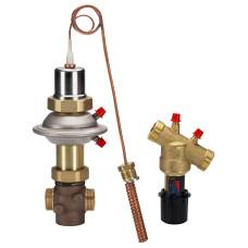 Регулятор температуры Danfoss AVTQ 003L7015 Ду15, Ру16, диапазон настройки, °С: 45–60, Kvs=1.6