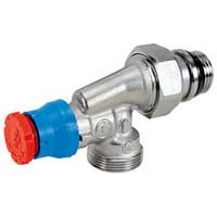 Термостатический клапан, угловой осевой Giacomini R415TG R415X033 1/2 Clip-Clap