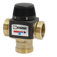 Термостатический смесительный клапан Esbe VTA372 31200100, Ру 10 HP, латунь, Kvs=3.4
