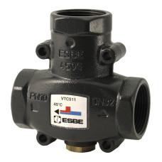 Термостатический смесительный клапан Esbe VTC 511 51020600 ДУ32, Ру 10 BP, чугун, Kvs=14, для котлов