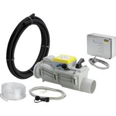 Обратный клапан для канализации, Viega Grundfix Plus Control 667 788 DN100, d110 канализационный обратный клапан для системы канализации, клапан для трубы