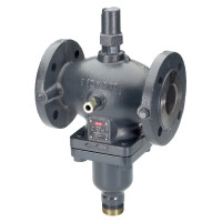 Danfoss VFQ 2 065B2671 Регулирующий клапан для AFQ, Ду 40 | Ру, бар: 25 | Kvs: 20, чугун, фланцевый