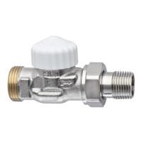 Термостатический клапан для радиатора Heimeier V-exact II 3720-02.000 3/4 прямой ДУ15