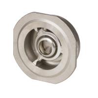 Обратный клапан NVD 812 Danfoss 065B7534 пружинный, межфланцевый, ДУ 40, Kvs=28, нерж. сталь