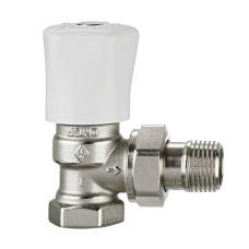Ручной регулирующий клапан Heimeier Mikrotherm F 3491-03.500 ДУ20 3/4 угловой