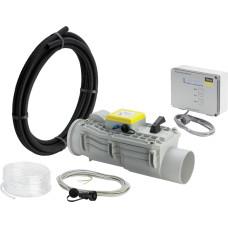 Канализационный обратный клапан, Viega Grundfix Plus Control 667 788 DN150, d160 канализационный обратный клапан для системы канализации, клапан для трубы