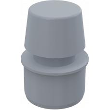 Вакуумный клапан Alcaplast APH50 DN50 канализационный