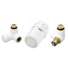 Комплект терморегулятора Danfoss RAX 013G4007 белый, подключение справа | для полотенцесушителя