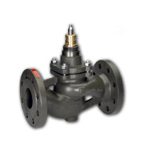 Регулирующий клапан VFS2 Danfoss 065B3400 ДУ100, чугун, фланцевый, Kvs=145