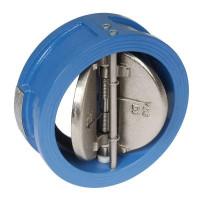 Двухстворчатый обратный клапан Tecofi CB3448N-EP0100 Ду100 створки чугун, межфланцевый