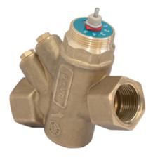 Клапан балансировочный комбинированный Giacomini R206AY053 R206AM ДУ15, BP G ½, латунь, Ру 25