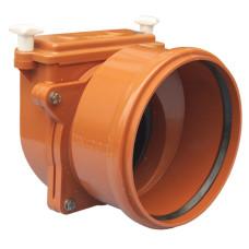 HL720.0 Механический канализационный затвор DN200 с заслонкой из нержавеющей стали и муфтой устройство для монтажа и установки оборудования для дома