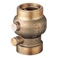 Клапан обратный 223 Danfoss 149B2893 пружинный, муфтовый, ДУ 32, 1 1/2, Kvs=23,3, латунь