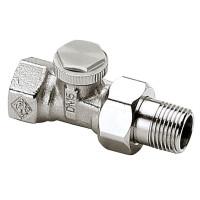 Клапан радиаторный запорный IMI Heimeier Regutec 0356-01.000 прямой ДУ10 3/8 бронза