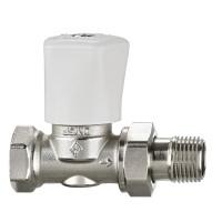 Ручной регулирующий клапан Heimeier Mikrotherm F 3492-02.500 ДУ15 1/2 прямой