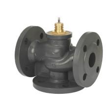 Регулирующий клапан VF3 Danfoss 065Z3360 ДУ50, чугун, фланцевый, Kvs=38, трехходовой
