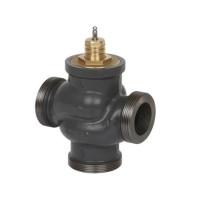 Регулирующий клапан Danfoss VRG 3 065Z0112 ДУ15, чугун, резьбовой, Kvs=1, трехходовой