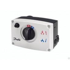 Danfoss электропривод AME 23 082G3016 редукторный, 24В, приводное усилие 450Н