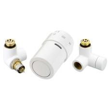 Комплект терморегулятора Danfoss RAX 013G4008 белый, подключение слева | для полотенцесушителя