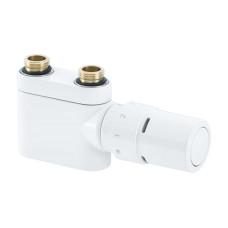 Терморегулирующий комплект Danfoss 013G4378 белый, прямой | для полотенцесушителя