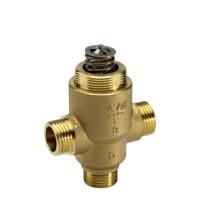 Danfoss VZ 3 065Z5414 Регулирующий клапан, латунь, трехходовой ДУ 15 | G ½ | Ру 16бар | Kvs: 5.5м3/ч