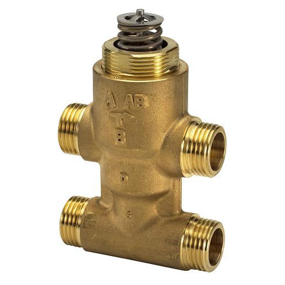 Регулирующий клапан Danfoss VZ 4 065Z5520 ДУ20 четырехходовой для вент. установок, Kvs=2.5