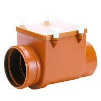 HL710 Механический канализационный затвор DN110 с заслонкой из нержавеющей стали