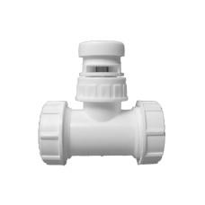 HL902T Канализационный вакуумный клапан с Т-образным соединением, DN 32